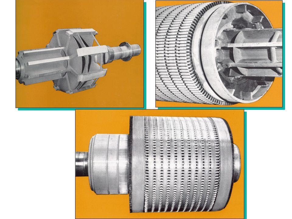 Il COLLETTORE Il collegamento elettrico fra un circuito fisso ed uno rotante (o più raramente traslante) è assicurato, per la parte fissa da contatti striscianti morbidi, generalmente a base di carbonio (spazzole), e per la parte mobile da un collettore metallico, per un elemento rotante, ad anelli o, se commutatore, a lamelle.
