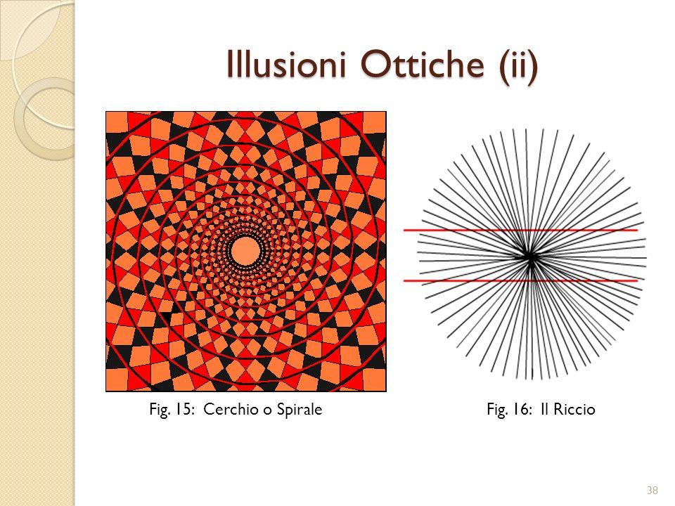 Illusioni Ottiche (iii) Fig. 17: Lungo o Corto 39