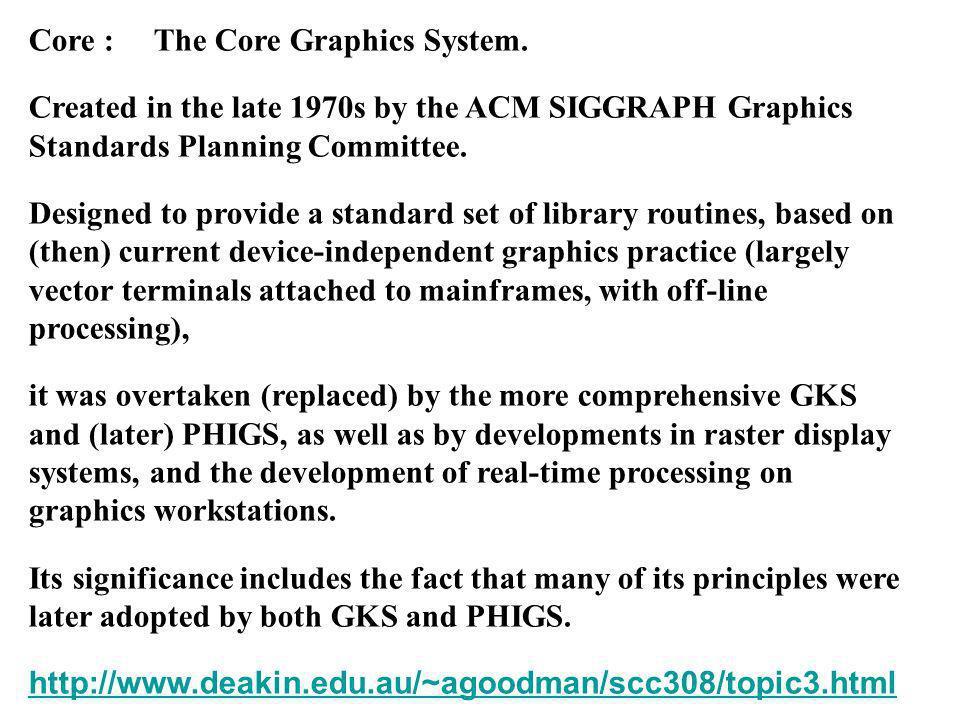 Introduzione alla Grafica Digitale procedimento standard OpenGL per disegnare piu punti: struct Tpunto{ float x; float y; };...