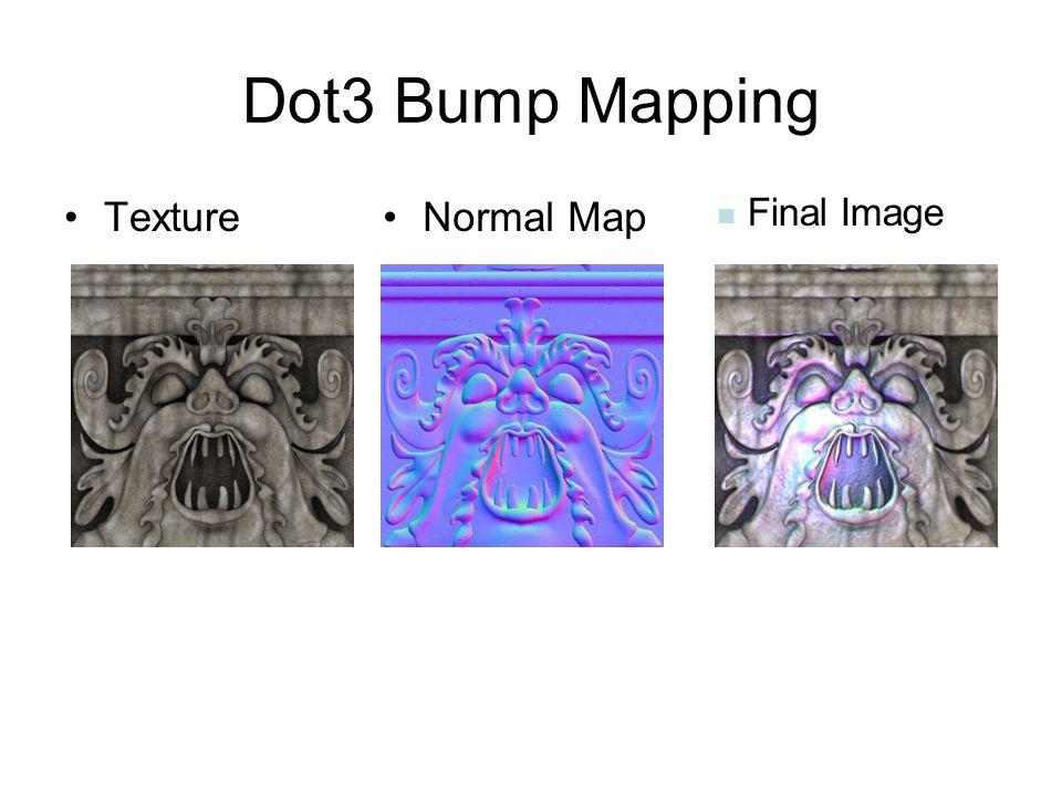Dot3 Bump Mapping TextureNormal Map Final Image