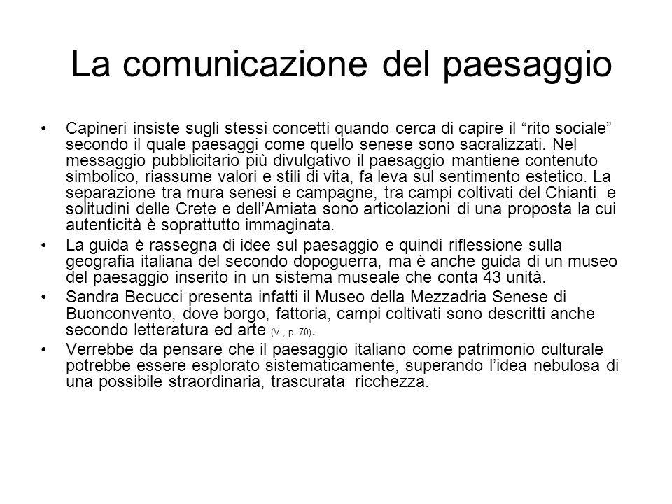 Nota bibliografica L.Parpagliolo,voce Paesaggio in Enc.