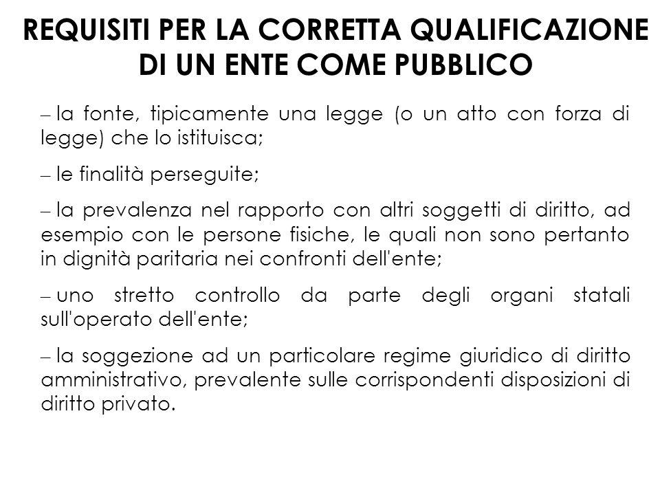 Le Amministrazioni Pubbliche: caratteristiche gestionali