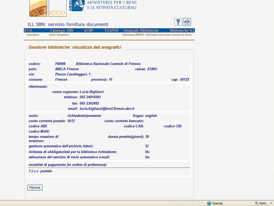 20 ILL SBN - alcune proposte di standard Per il colloquio: protocollo ILL SBN conforme ISOILL 10160/10161 in formato XML per la descrizione dei servizi: Directory services for Interlibrary loan a cura del Gruppo IPIG (Interlibrary Loan Protocol Implementors Group IPIG) (disponibile anche in formato XML) http://www.collectionscanada.ca/iso/ill/ipd.htm