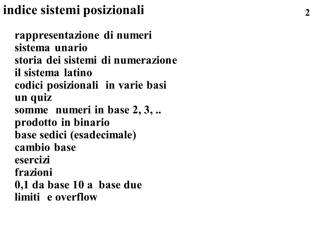 223 esercizio floating point: 7,7E0 in binario .