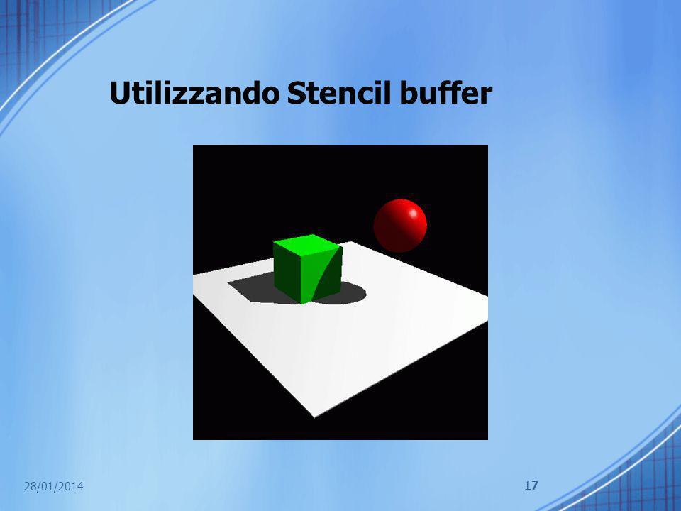 Utilizzando Stencil buffer 28/01/2014 17