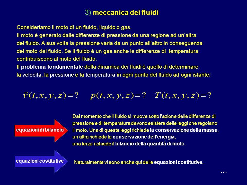 ... 2) meccanica dei solidi deformabili Consideriamo la deformazione elastica di un corpo solido.