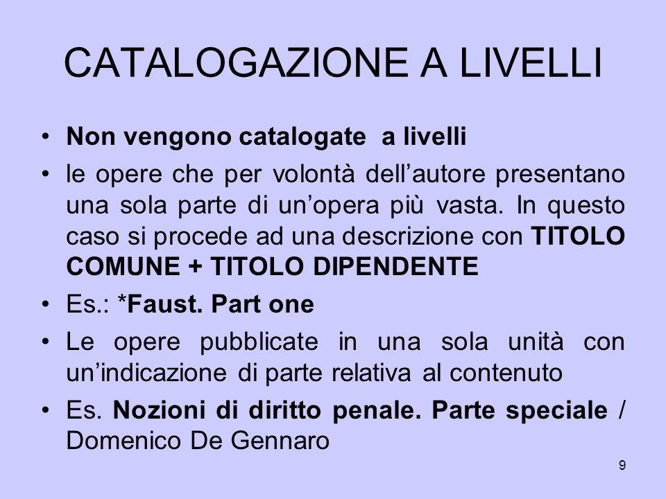 30 CATALOGAZIONE A LIVELLI CFI0158295 *Storia dell arte classica e italiana / diretta da Giulio Carlo Argan.