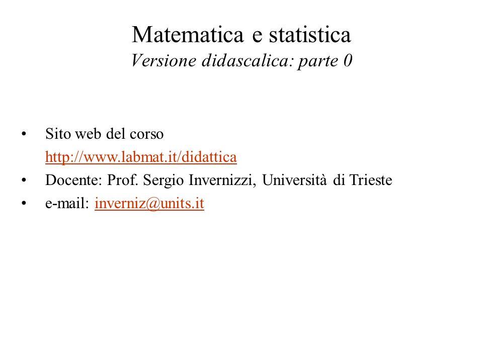 Syllabus essenziale di trigonometria Il monumento a Pitagora (ca.