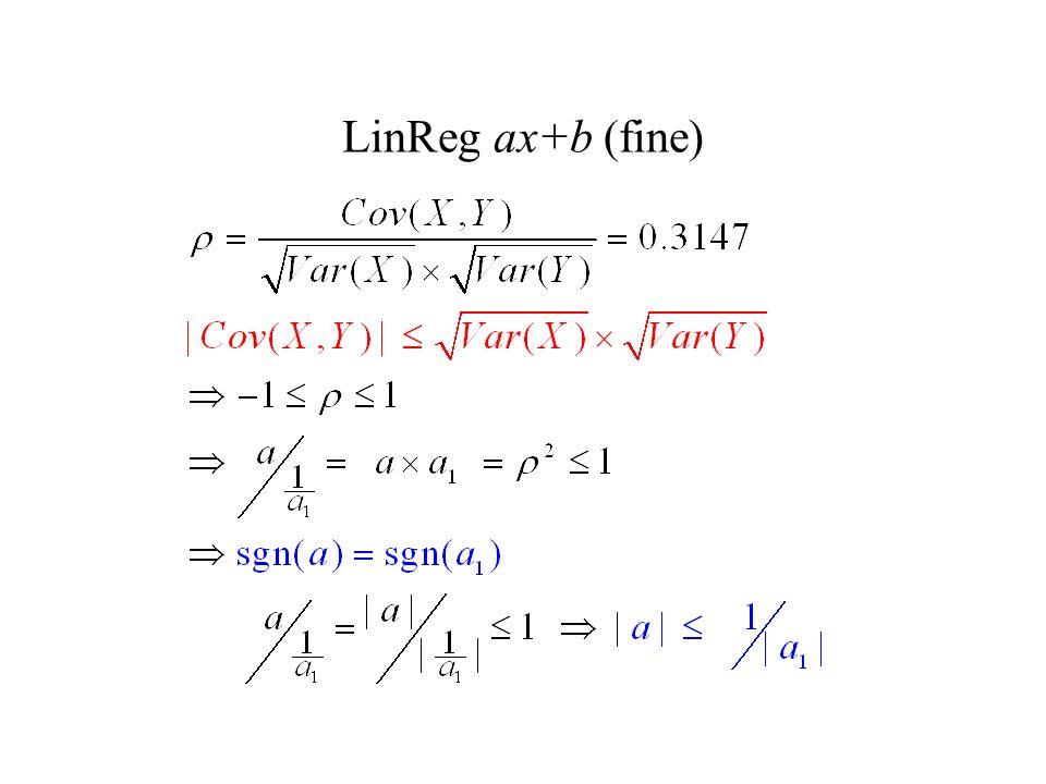 LinReg ax+b (fine)