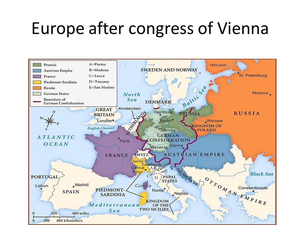 The european concert Congress of Verona (1822)