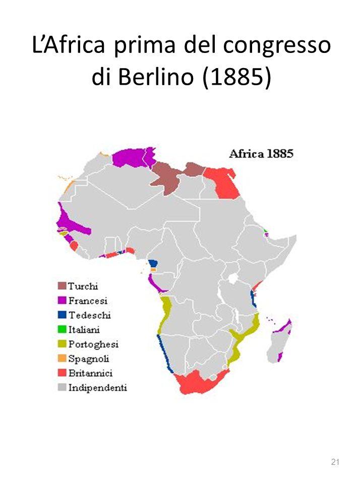 LAfrica prima del congresso di Berlino (1885) 21