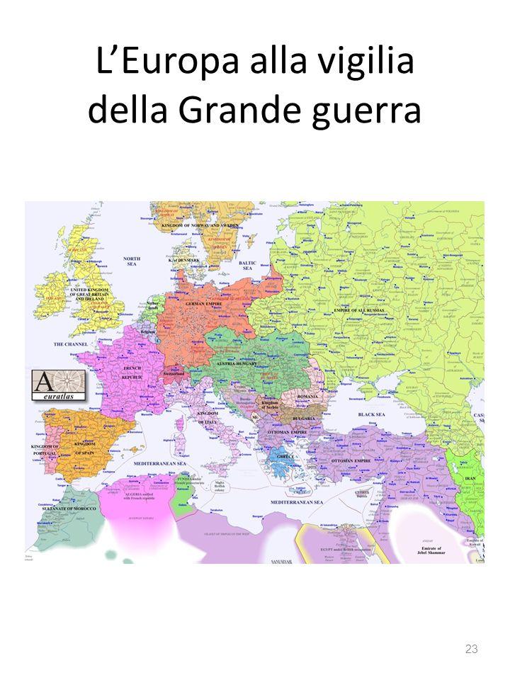 LEuropa alla vigilia della Grande guerra 23
