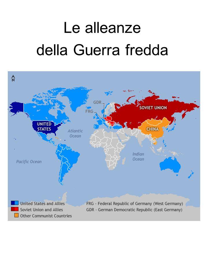 Le alleanze della Guerra fredda