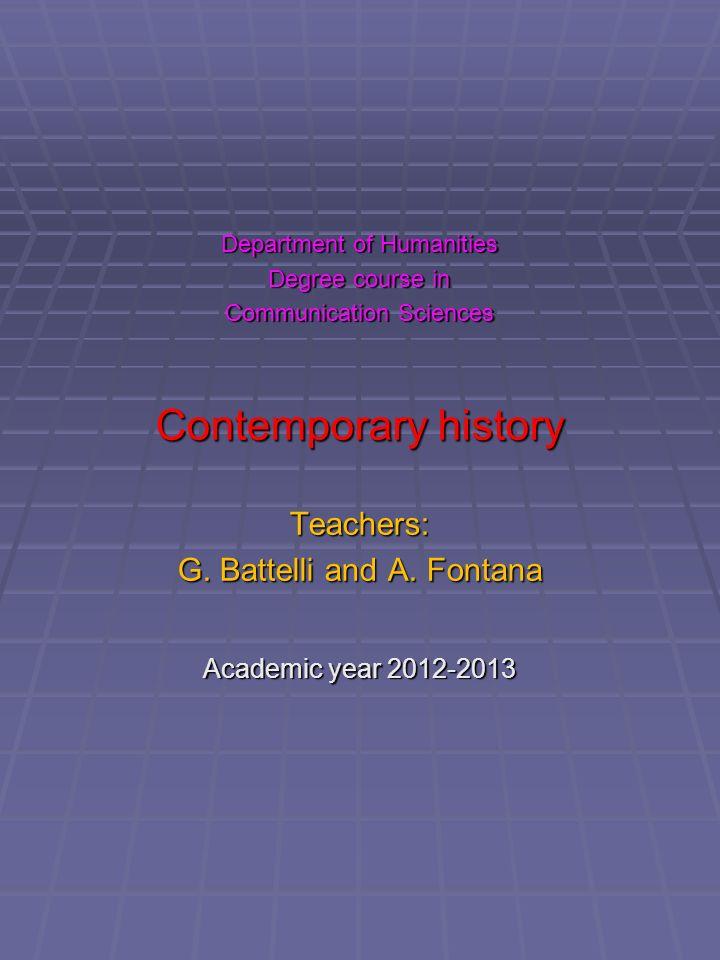 Entrance text 1) Con quali espressioni latine si indicano gli eventi storici e il loro studio.