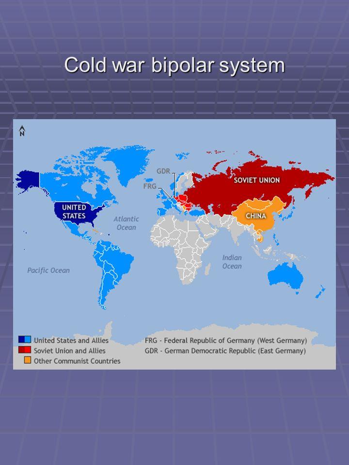 Cold war bipolar system