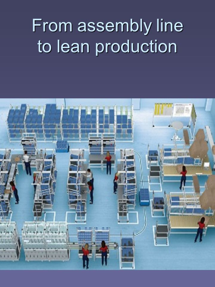 From assembly line to lean production