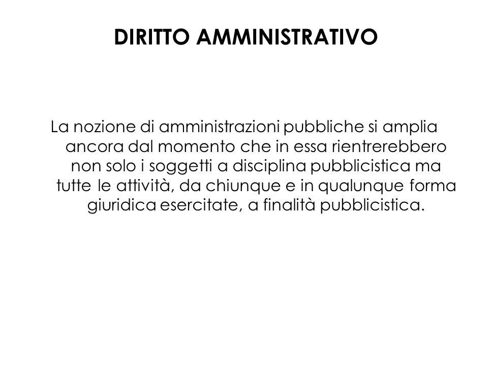La nozione di amministrazioni pubbliche si amplia ancora dal momento che in essa rientrerebbero non solo i soggetti a disciplina pubblicistica ma tutt