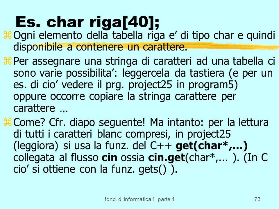 fond. di informatica 1 parte 473 Es.