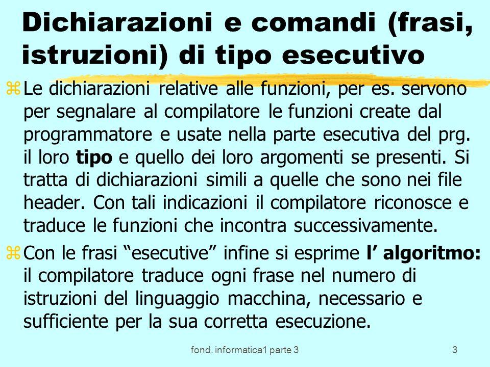 fond.informatica1 parte 314 Inizializzazione delle var.