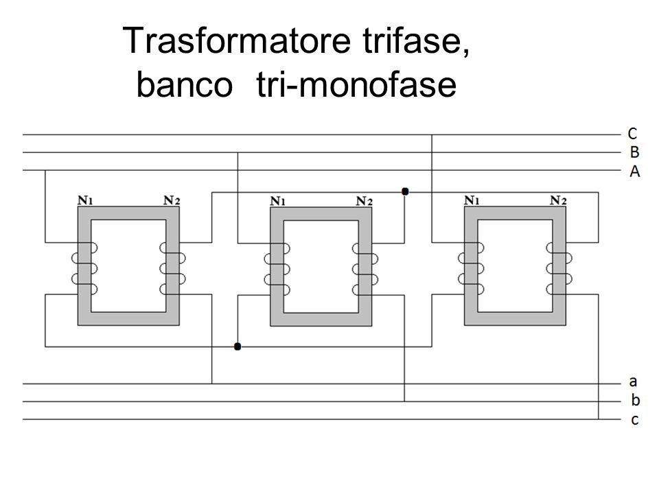 Trasformatore trifase, banco tri-monofase