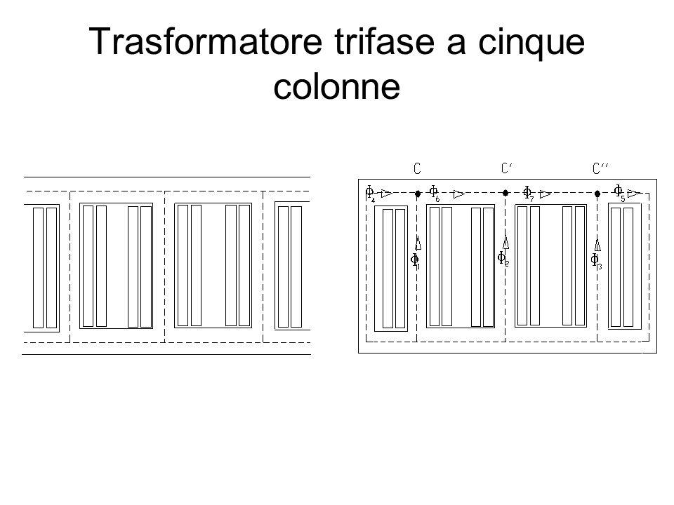 Trasformatore trifase a cinque colonne