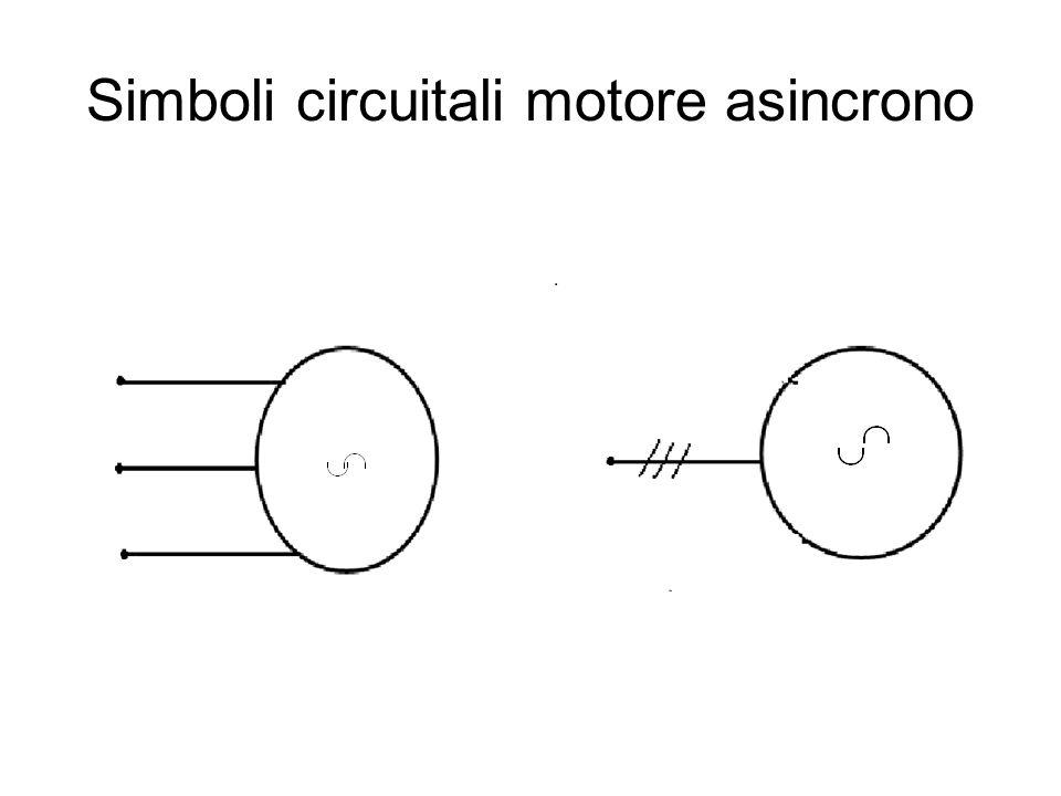 Simboli circuitali motore asincrono