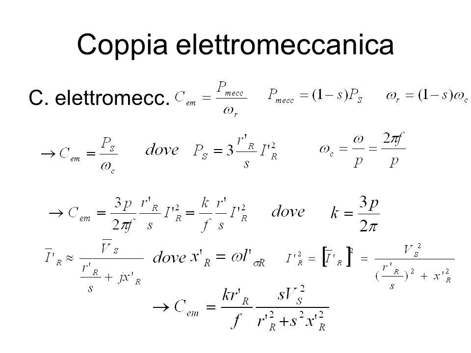 Coppia elettromeccanica C. elettromecc.