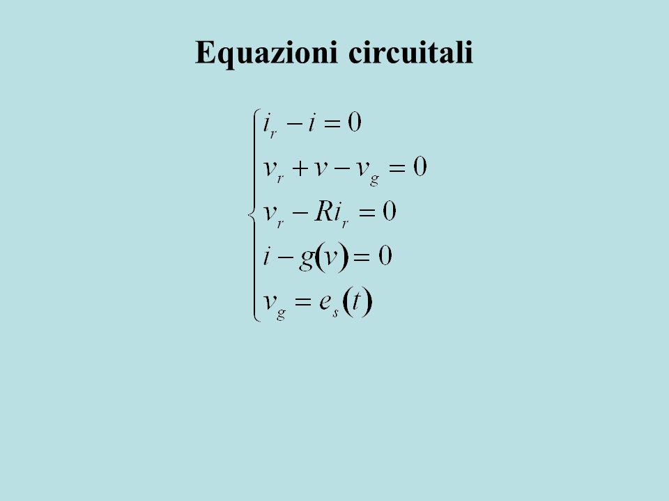 Equazioni circuitali