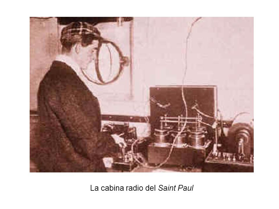 La cabina radio del Saint Paul