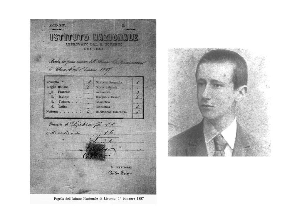 Dal manoscritto originale del discorso di accettazione del premio Nobel (11 dicembre 1909)
