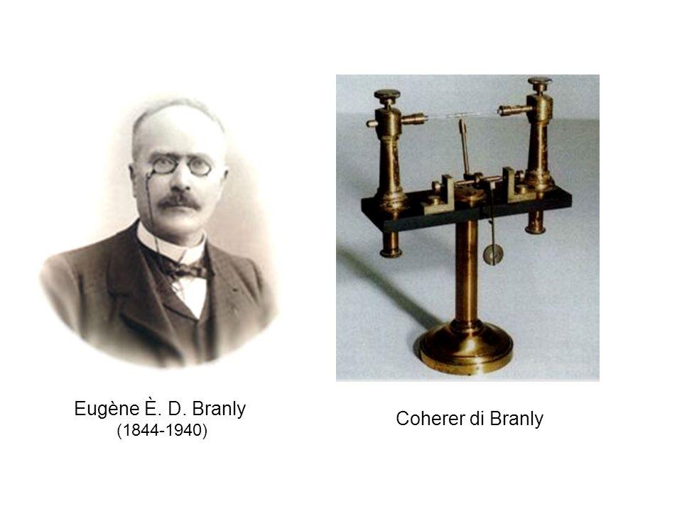 Eugène È. D. Branly (1844-1940) Coherer di Branly