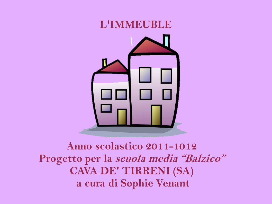 L immeuble è una simulazione globale, cioè un metodo d apprendimento del francese basato sul gioco di ruolo.