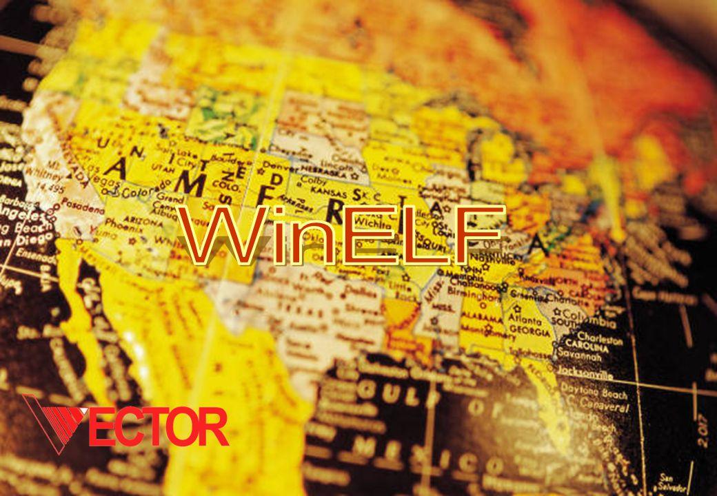 WinELF Consente la gestione dei dati relativi alle linee di distribuzione dellenergia elettrica e lanalisi del campo magnetico prodotto.