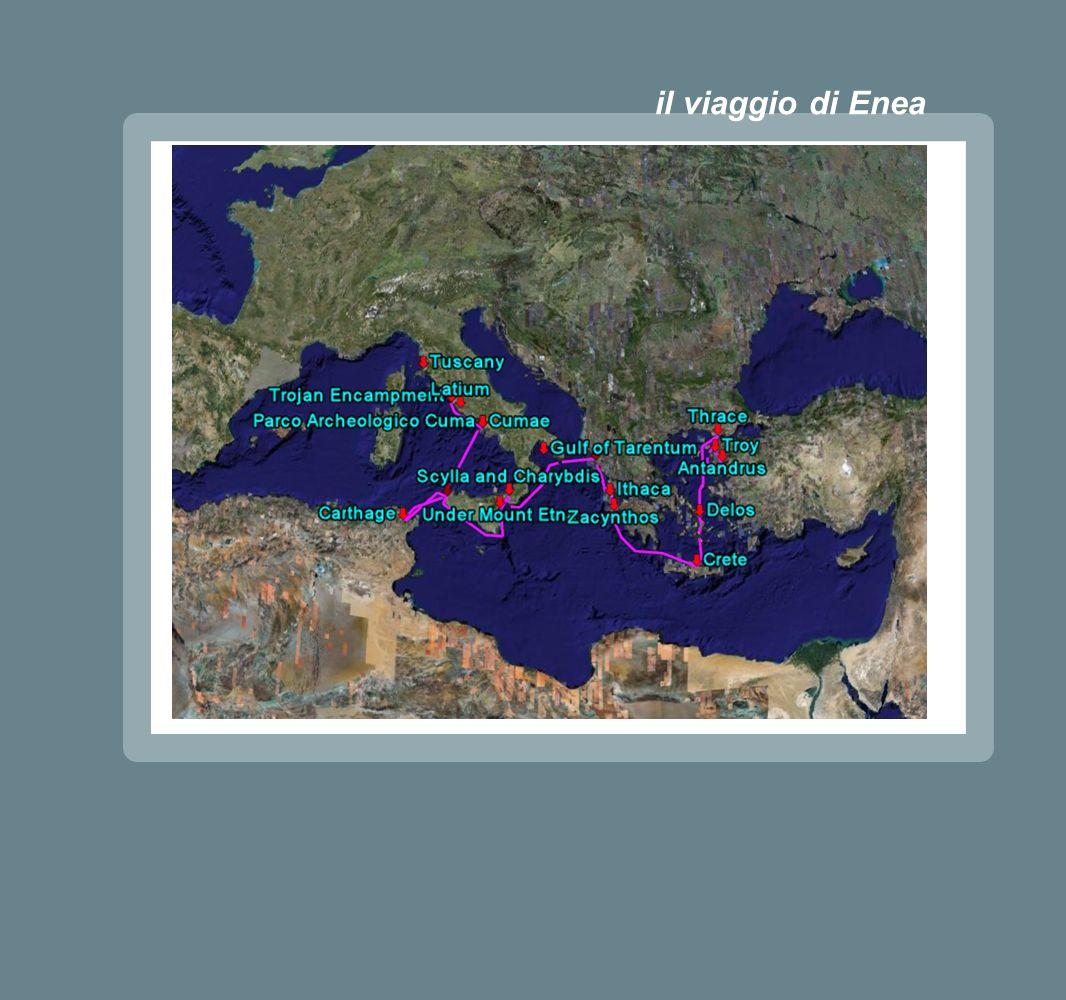 il viaggio di Enea
