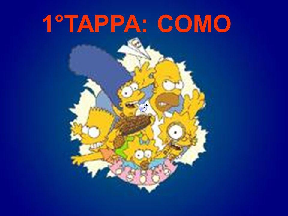 1°TAPPA: COMO