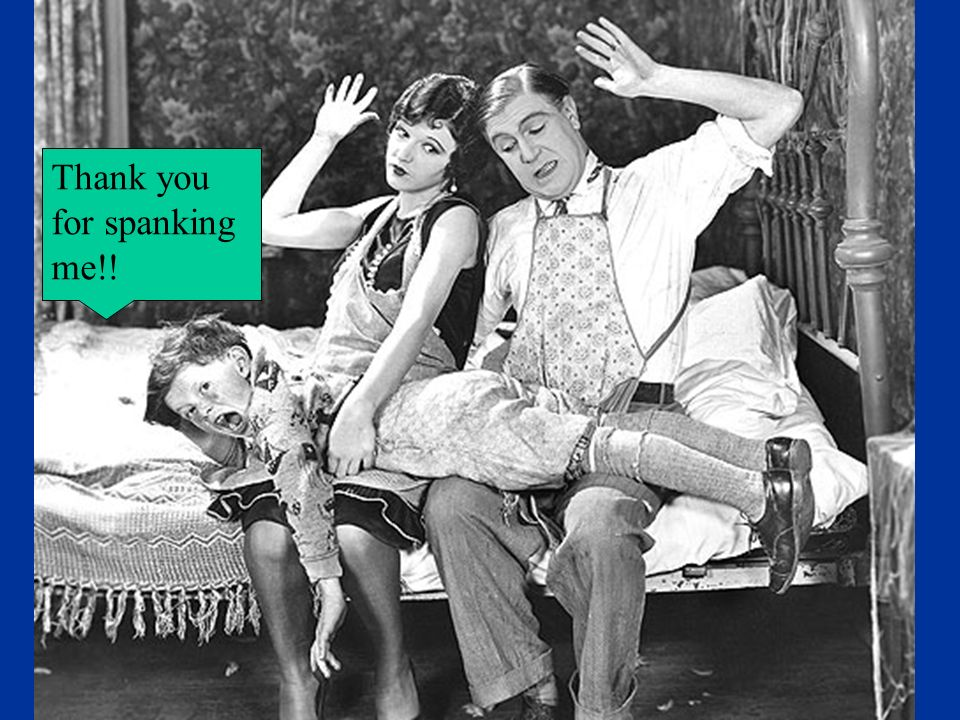 Thank you for spanking me!!