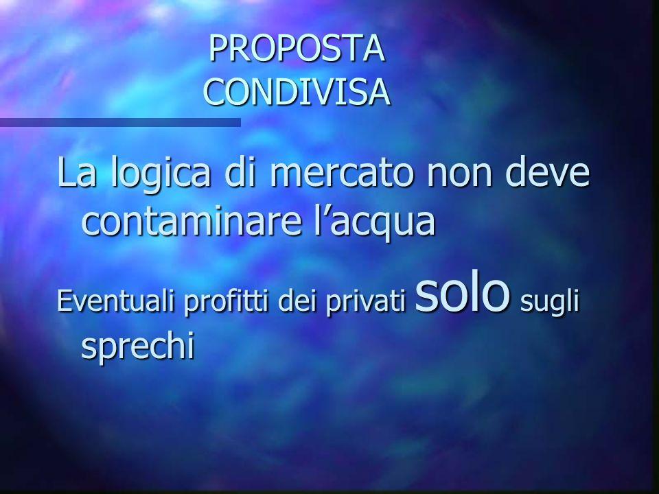 La Gestione La Gestione n Pubblico= garanzie ? n Privati= efficienza ?