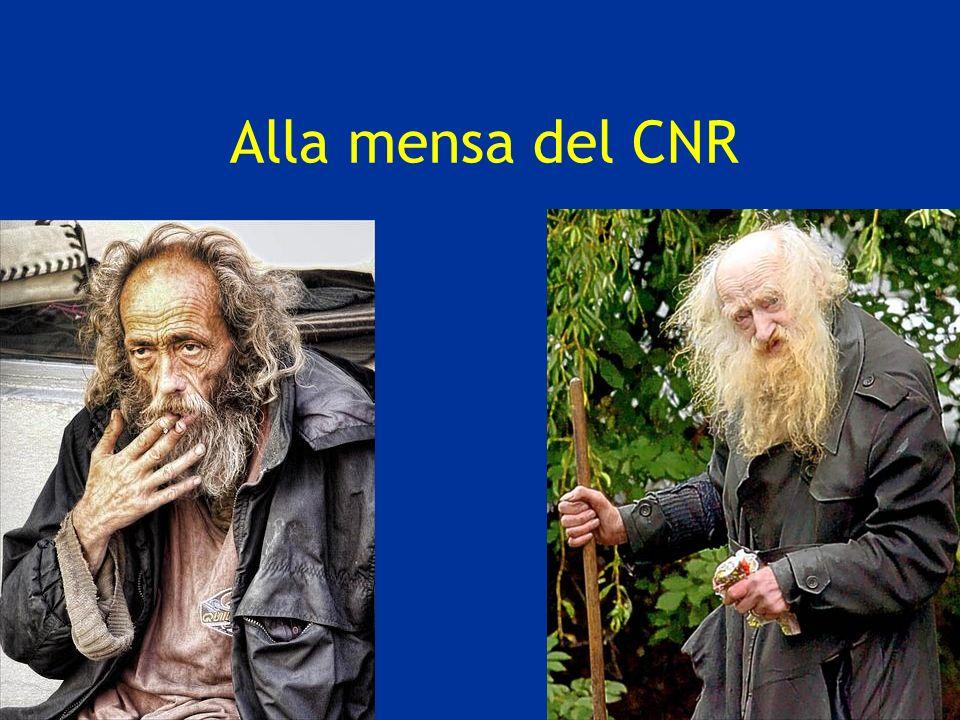 Alla mensa del CNR