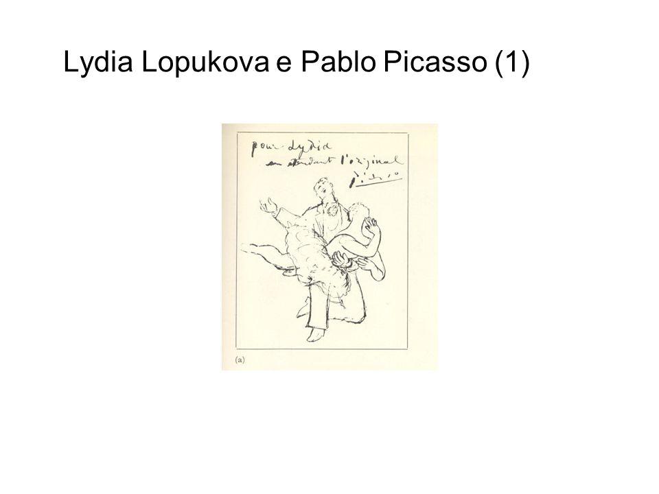 Lydia Lopukova e Pablo Picasso (1)