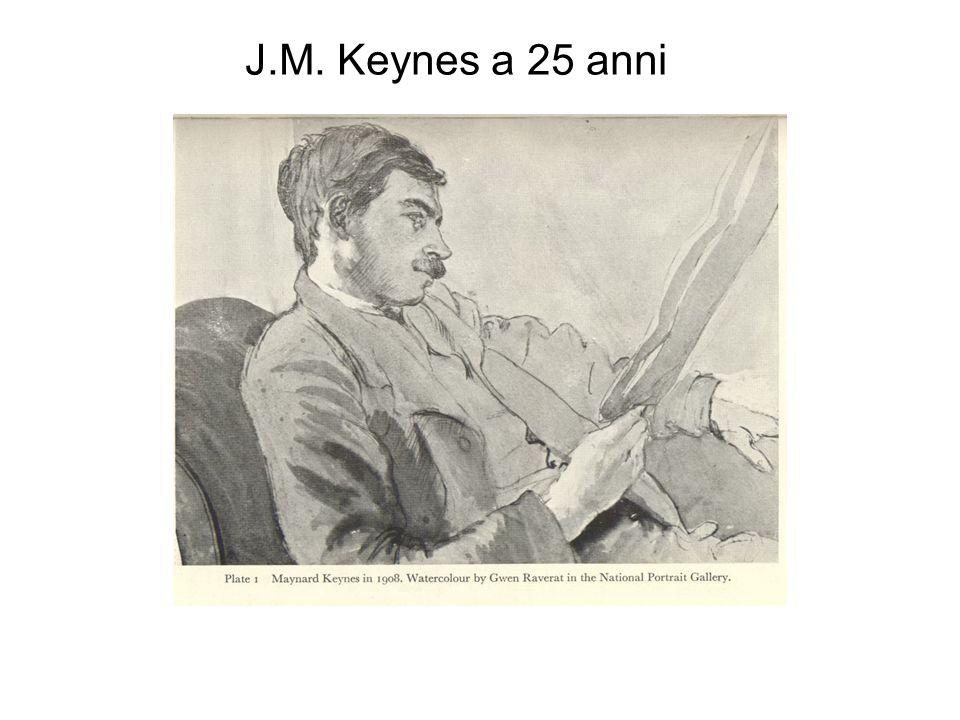 J.M. Keynes a 25 anni