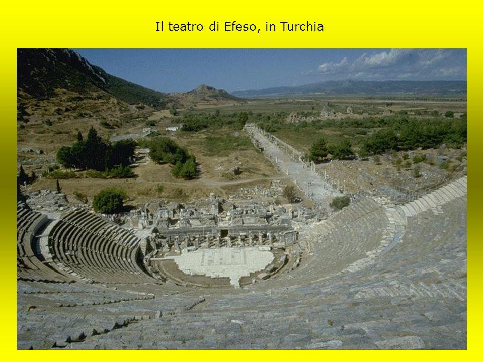 Il teatro di Efeso, in Turchia