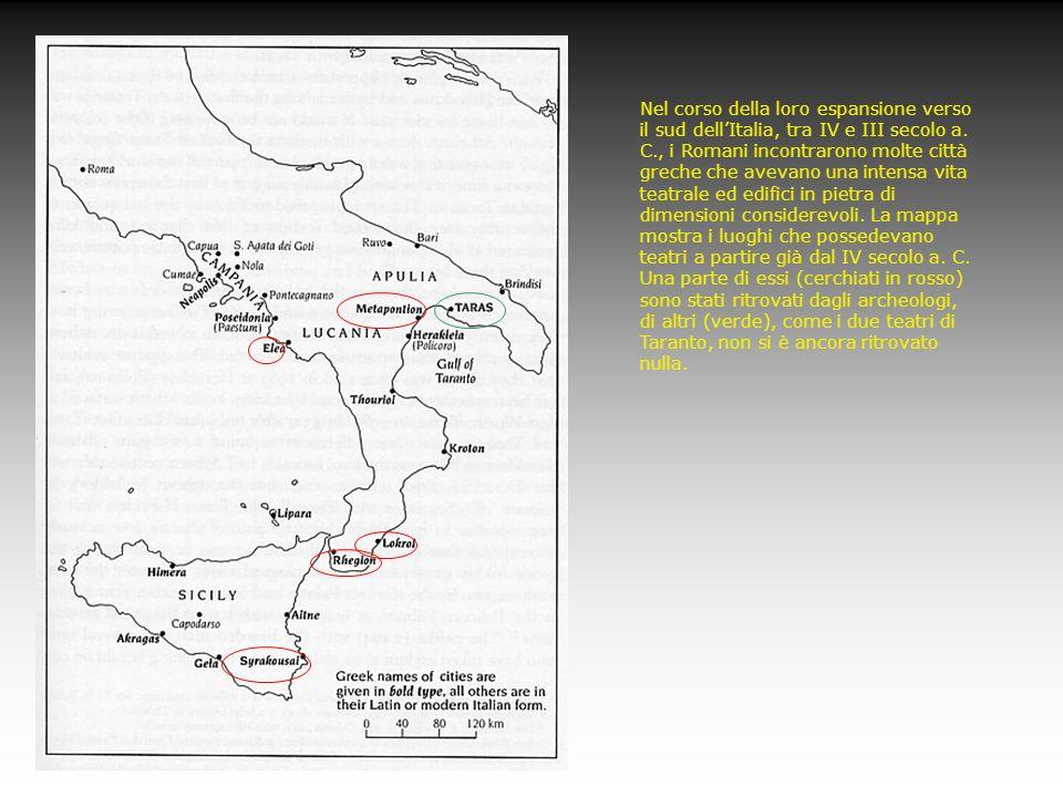 Nel corso della loro espansione verso il sud dellItalia, tra IV e III secolo a. C., i Romani incontrarono molte città greche che avevano una intensa v