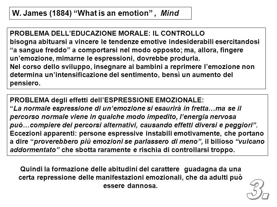 PROBLEMA DELLEDUCAZIONE MORALE: IL CONTROLLO bisogna abituarsi a vincere le tendenze emotive indesiderabili esercitandosi a sangue freddo a comportars