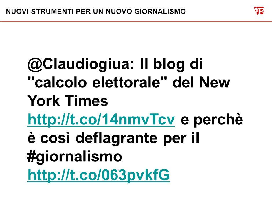 NUOVI STRUMENTI PER UN NUOVO GIORNALISMO @Claudiogiua: Scoop del Tirreno: su un tovagliolo di carta lo schema di Berlusconi per vincere le elezioni (! ).