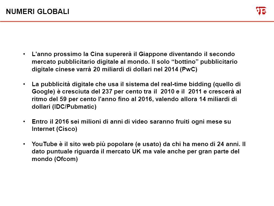 NUMERI ITALIA USA UK L anno scorso in Italia sono stati venduti quattro milioni e mezzo di quotidiani al giorno, un milione in meno del 2006 (Fieg).