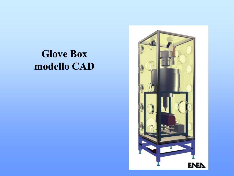 Glove Box modello CAD