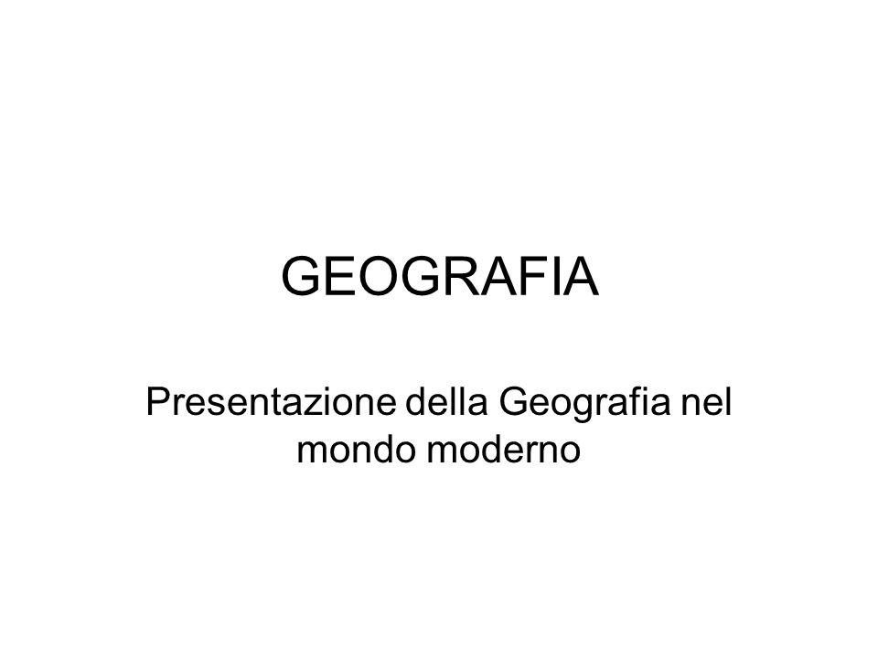 DEFINIZIONE E METODOLOGIA DELLA GEOGRAFIA Geografia = descrizione della terra E un concetto semplice ma il contenuto cambia nel tempo e nello spazio.