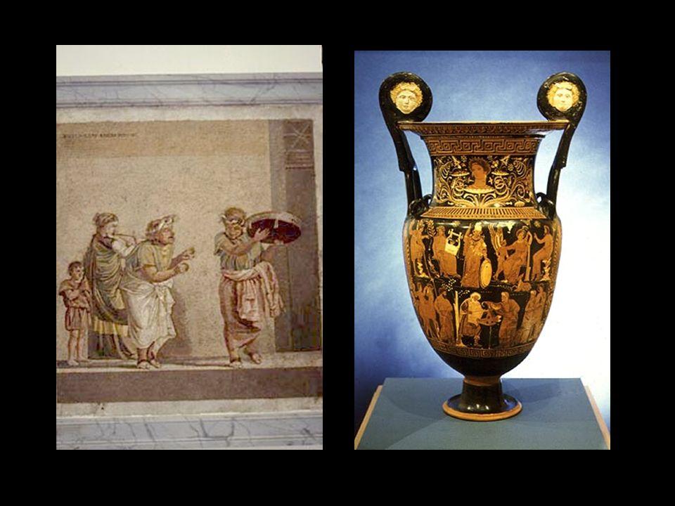 3. Fonti iconografiche Nel grande naufragio che ci ha privato della massima parte della pittura antica, sono sopravvissuti alcuni documenti molto impo