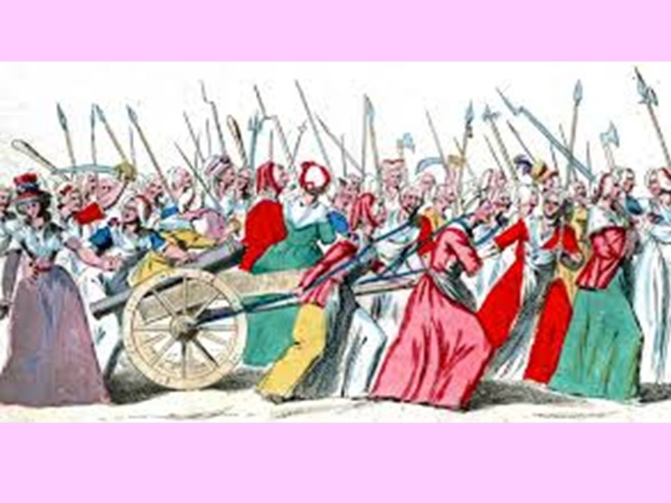Donne nella rivoluzione francese.