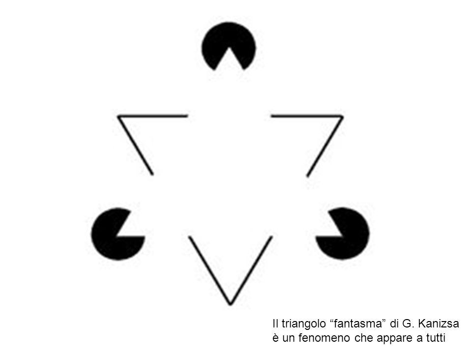 Il triangolo fantasma di G. Kanizsa è un fenomeno che appare a tutti